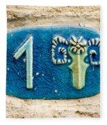 Jaffa, Zodiac Street Sign  Fleece Blanket
