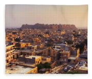 Jaisalmer - India Fleece Blanket