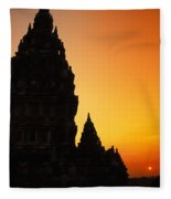 Java, Prambanan Fleece Blanket