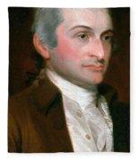 John Jay, American Founding Father Fleece Blanket