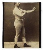 John L. Sullivan (1858-1918) Fleece Blanket