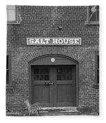 Jonesborough Tennessee - Salt House Fleece Blanket