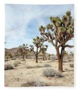 Joshua Tree National Park, California Fleece Blanket