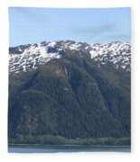 Juneau, Alaska Fleece Blanket