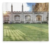 King's College Cambridge Fleece Blanket