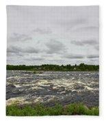 Kukkolankoski Fleece Blanket