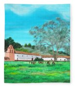 La Purisima Mission Fleece Blanket