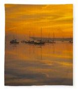 Lake Massabesic - Auburn New Hampshire Usa Fleece Blanket