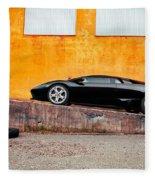Lamborghini Fleece Blanket
