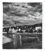 Landsberg, Germany Fleece Blanket
