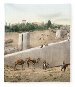 Lebanon: Baalbek Fleece Blanket