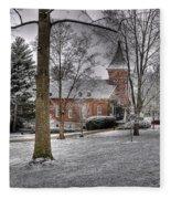 Lee Chapel Fleece Blanket