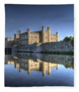Leeds Castle Reflections Fleece Blanket