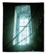Light Through The Currituck Window - Text Fleece Blanket