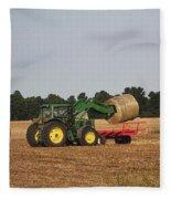 Loading Hay Fleece Blanket