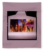 Love Hurts Fleece Blanket