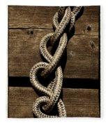 Love Knots Fleece Blanket