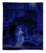 Madame Sherris Castle Ruins Fleece Blanket