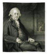 Matthew Boulton, English Manufacturer Fleece Blanket