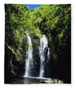 Maui Waterfall Fleece Blanket