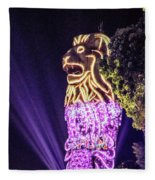 Merlion Fleece Blanket