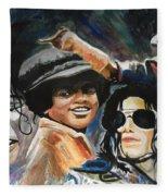 Micheal Jackson Fleece Blanket
