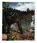 Miragaia Dinosaur - 3d Render Fleece Blanket