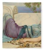 Mischief And Repose Fleece Blanket