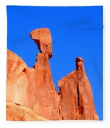 Moab Landscape Fleece Blanket