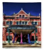 Montgomery Union Station Fleece Blanket