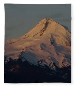 Mt Hood   Fleece Blanket