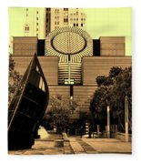 Museum Of Modern Art - San Francisco Fleece Blanket