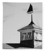 Nantucket Weather Vane Fleece Blanket
