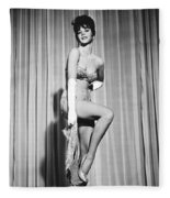 Natalie Wood Fleece Blanket