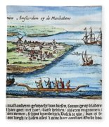New Amsterdam Fleece Blanket