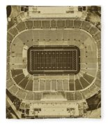 Notre Dame Stadium Fleece Blanket
