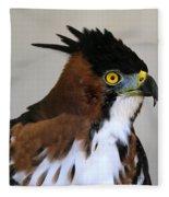 Ornate Hawk-eagle Fleece Blanket