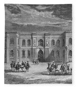 Paris Observatory, 17th Century Fleece Blanket