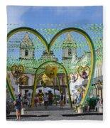 Pelourinho - The Historic Center Of Salvador Fleece Blanket