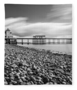 Penarth Pier 5 Fleece Blanket