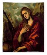Penitent Magdalene Fleece Blanket