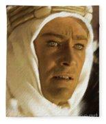 Peter O'toole As Lawrence Of Arabia Fleece Blanket