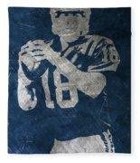 Peyton Manning Colts Fleece Blanket
