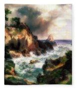 Point Lobos, Monterey, California Fleece Blanket
