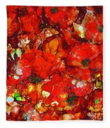 Poppies Fleece Blanket
