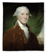 President George Washington Fleece Blanket