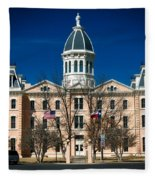 Presidio County Courthouse Fleece Blanket