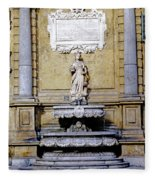 Quattro Canti In Palermo Sicily Fleece Blanket