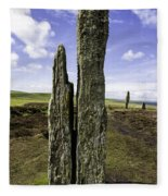 Ring Of Brodgar Fleece Blanket