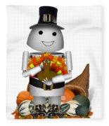 Robo-x9 The Pilgrim Fleece Blanket